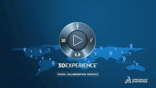 VS – 3DEXPERIENCE Social collaboration services video